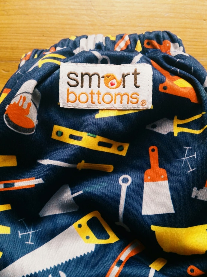Windelcheck: Smart Bottoms Dream Diaper AIO