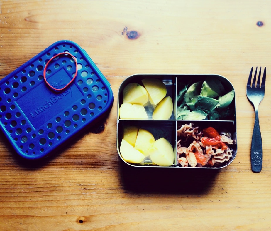 Edelstahldose statt Plastikbox
